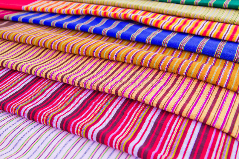 Download Texture Of Thai Cloth Stock Photo - Image: 25659190