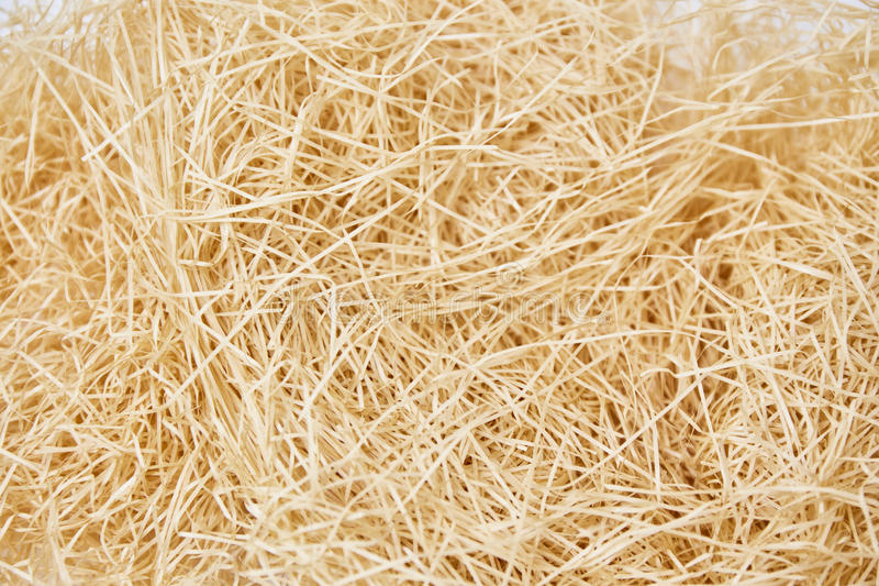 Texture of thatch. On white background royalty free stock image