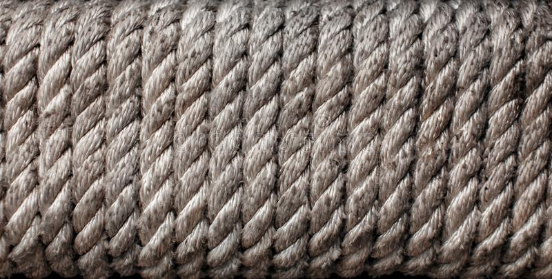 Rope on the mast stock photos