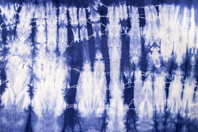 Texture tie dyed fabric for background royalty free stock images