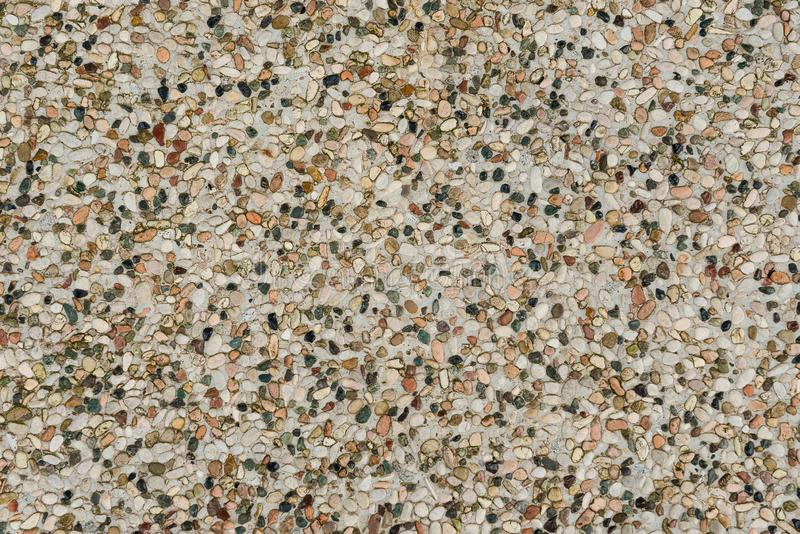 Texture of tile consisting of small stones royalty free stock photos