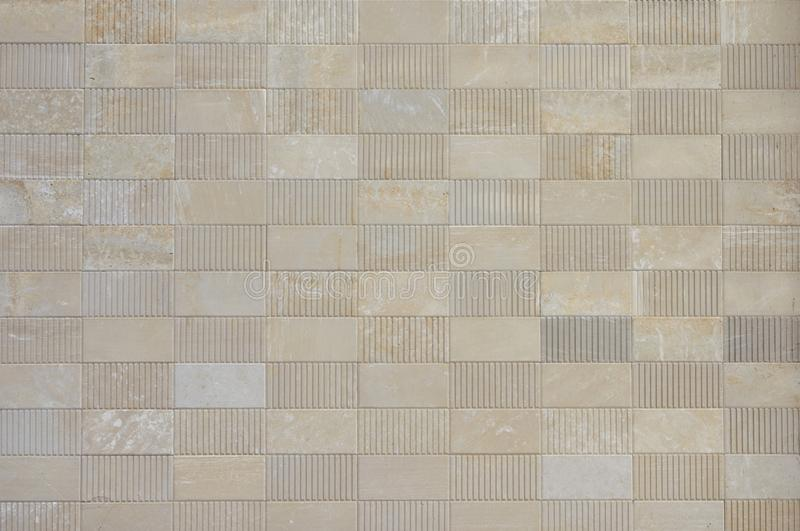 Texture tiles from natural stone beige travertine stock photos