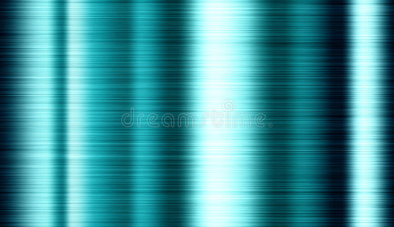 Texture tinted brushed metal with bright highlights, background stock photography