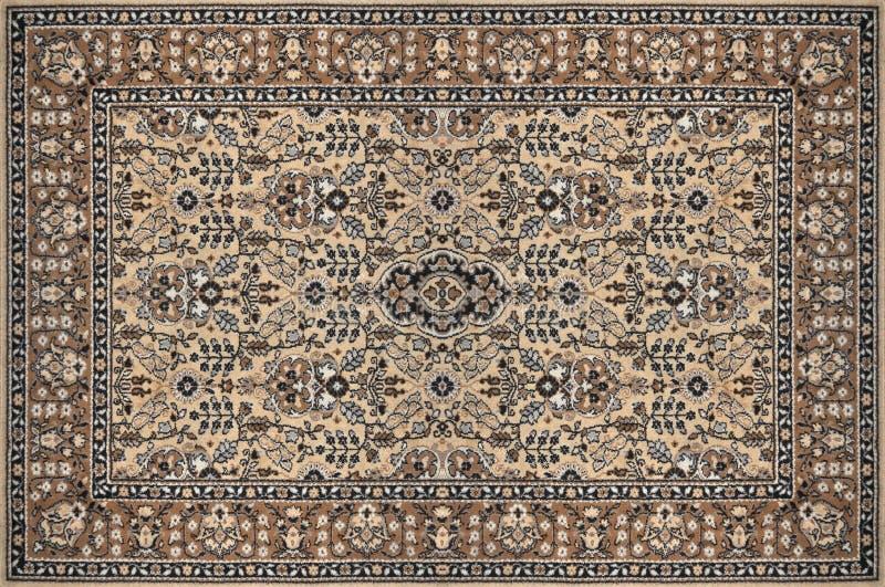 Texture traditionnelle fleurie orientale de tapis image stock