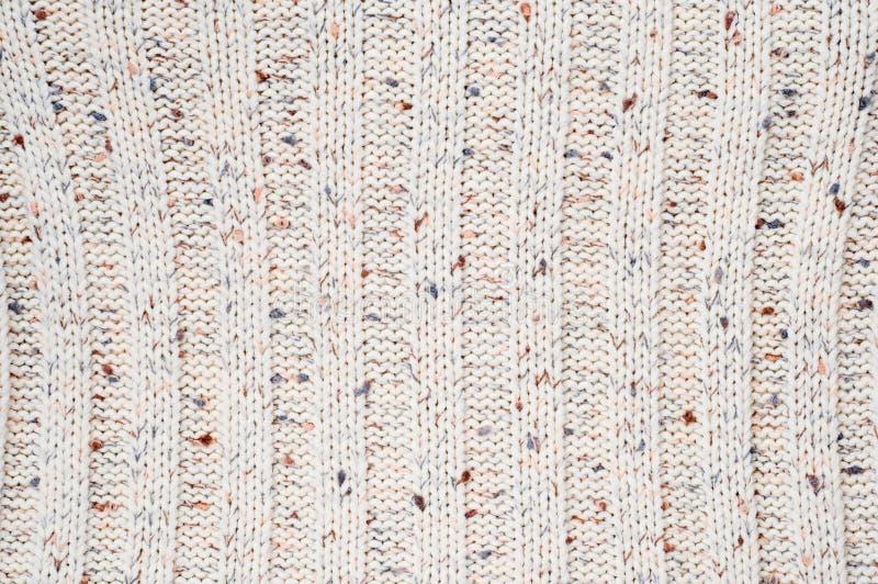 Texture tricotée de laines photographie stock libre de droits