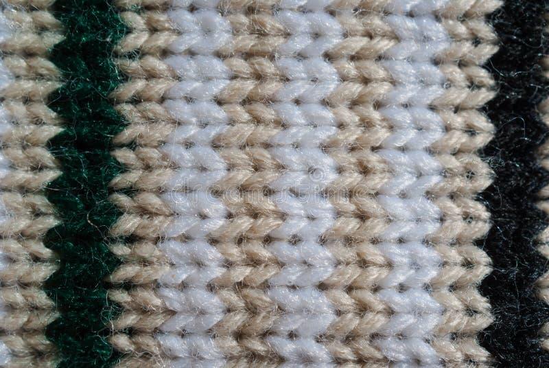 Texture tricotée de laines image stock