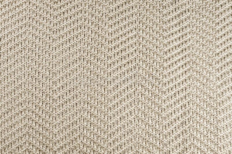 Texture tricotée de tissu photos stock