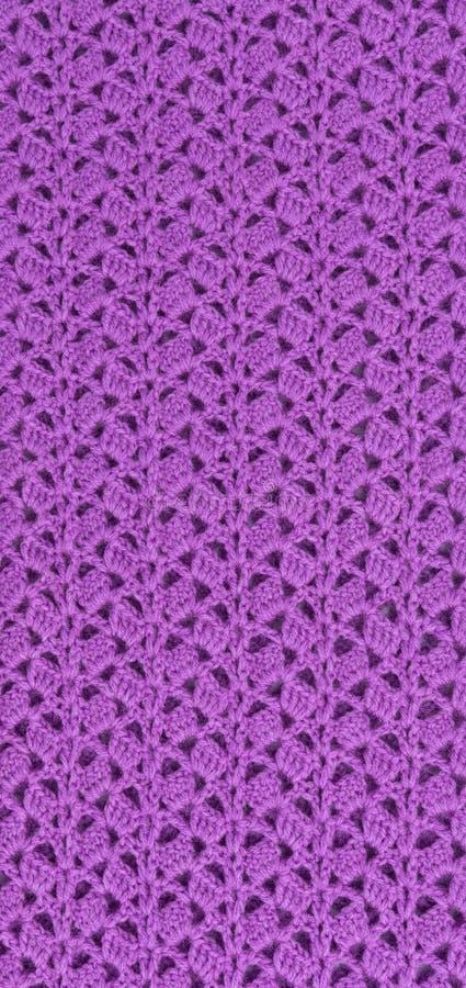 Texture tricotée de tissu de fond photographie stock