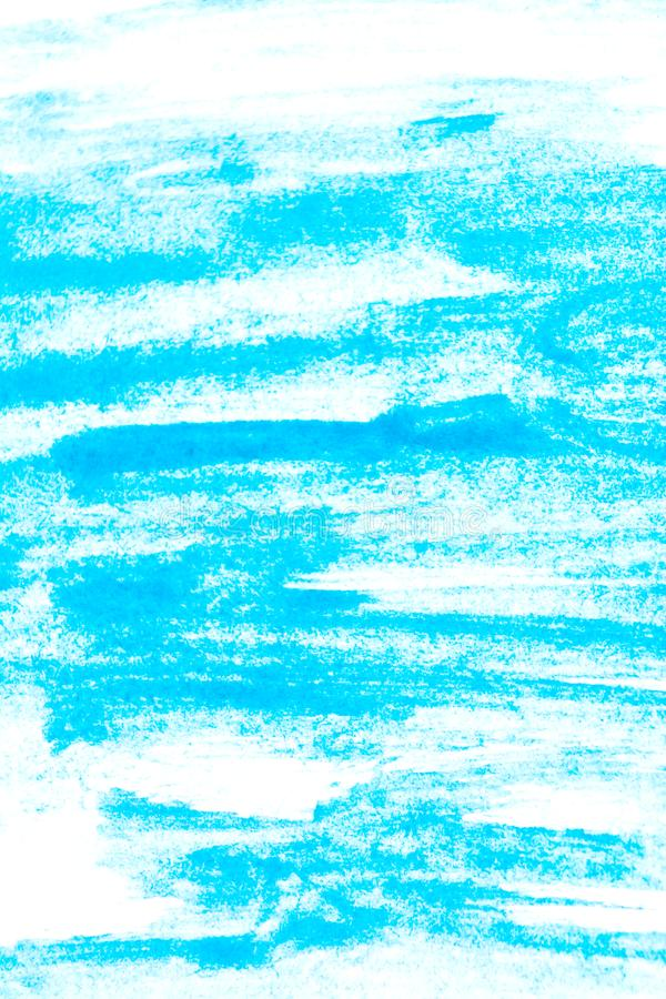 Texture of turquoise watercolor paint. Rectangular watercolour background. Vertical photo royalty free stock images