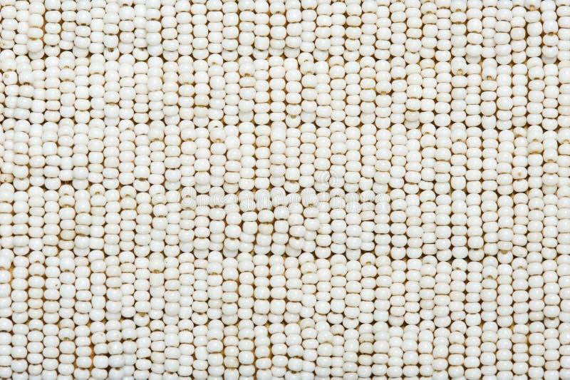 Texture. Une partie de collet perlé indien authentique. photographie stock libre de droits