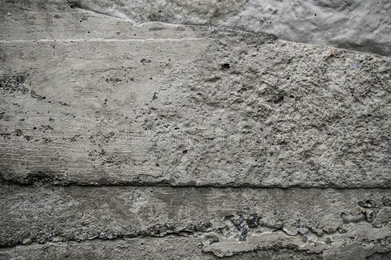 Texture of uneven old concrete slab royalty free stock photography