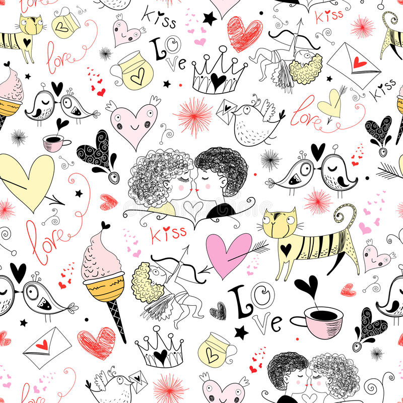 Download Texture With Valentine's Day Royalty Free Stock Images - Image: 22960299