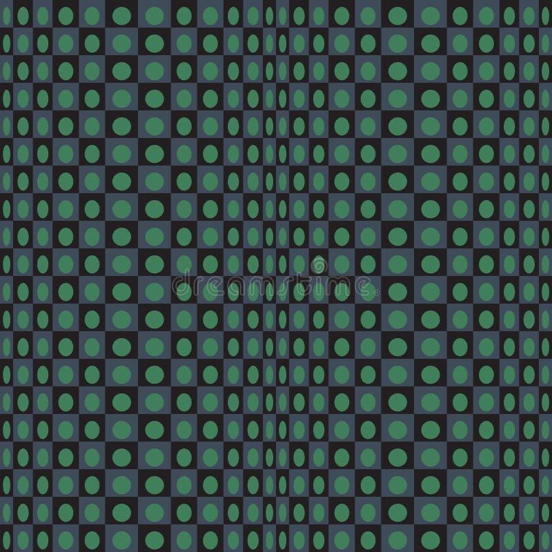 Texture verte de noir vert noir géométrique abstrait de modèle avec la place illustration libre de droits