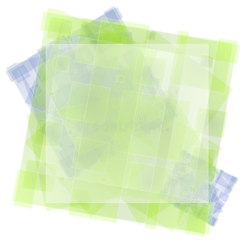Texture verte de papier de soie de soie illustration libre de droits