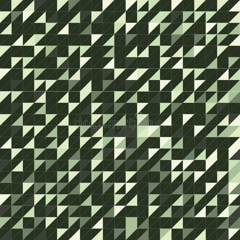 Texture verte de triangle illustration stock