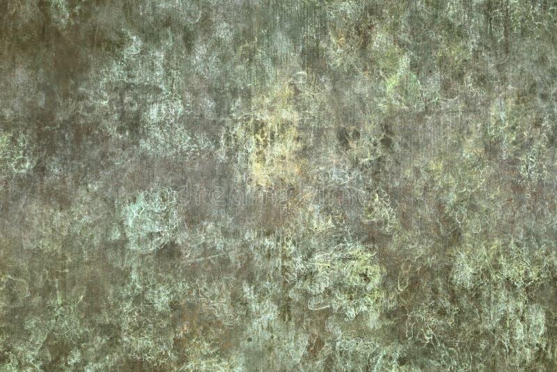 Texture verte en métal image libre de droits