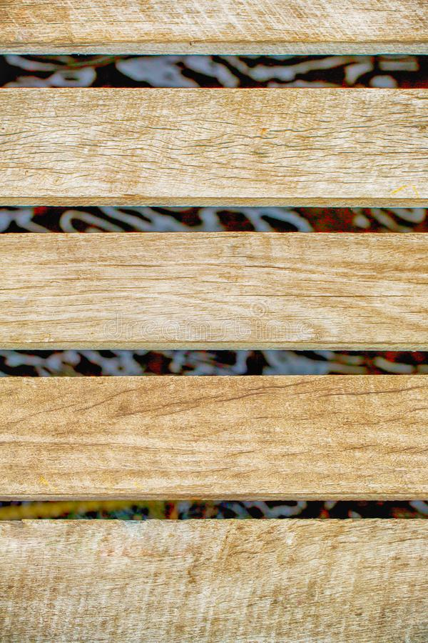 Texture of vintage lath wood background closeup.Old wooden walls.Raw wood royalty free stock images