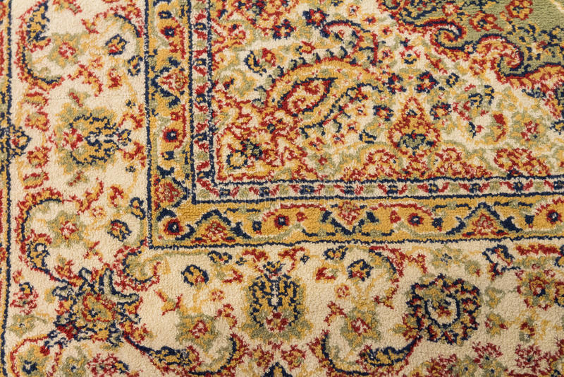 Texture of vitage carpet design royalty free stock photo