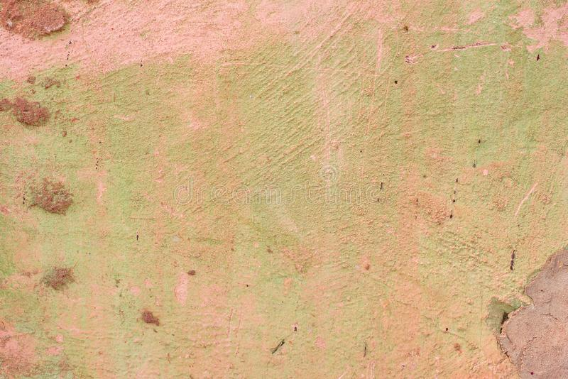 Texture of a concrete wall with cracks and scratches which can be used as a background stock photo