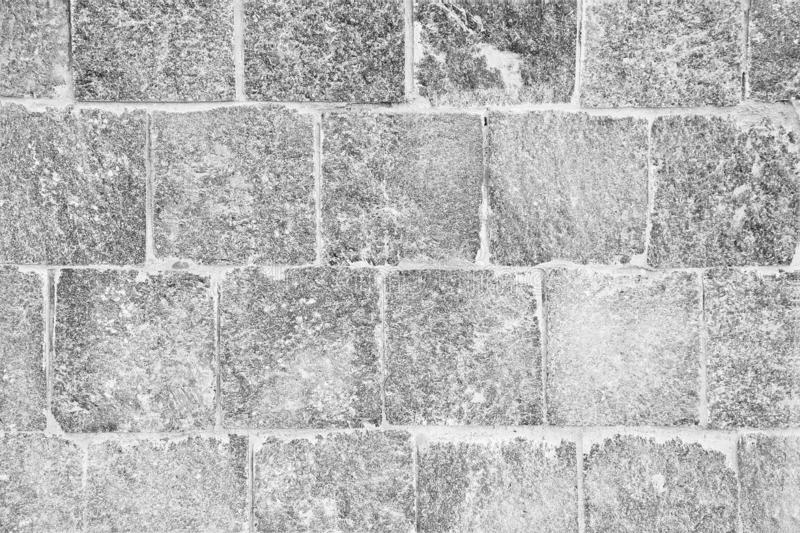 Texture of wall with stone tiles stock images