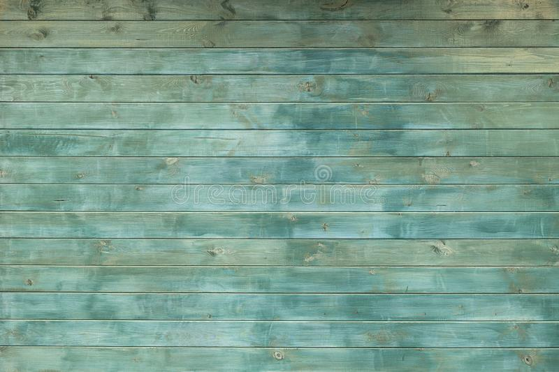 Texture wall wooden trendy green background. Background of the tree, dark color boards, free without objects. Billet. Wood horizontal boards wall. Similiar royalty free stock photo