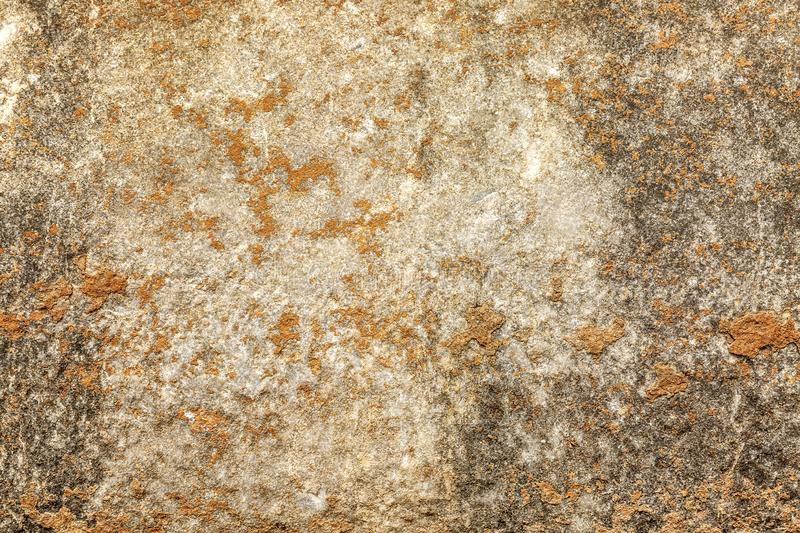 The texture of the walls of antique buildings. A rock. Background close-up. Space for text stock photography