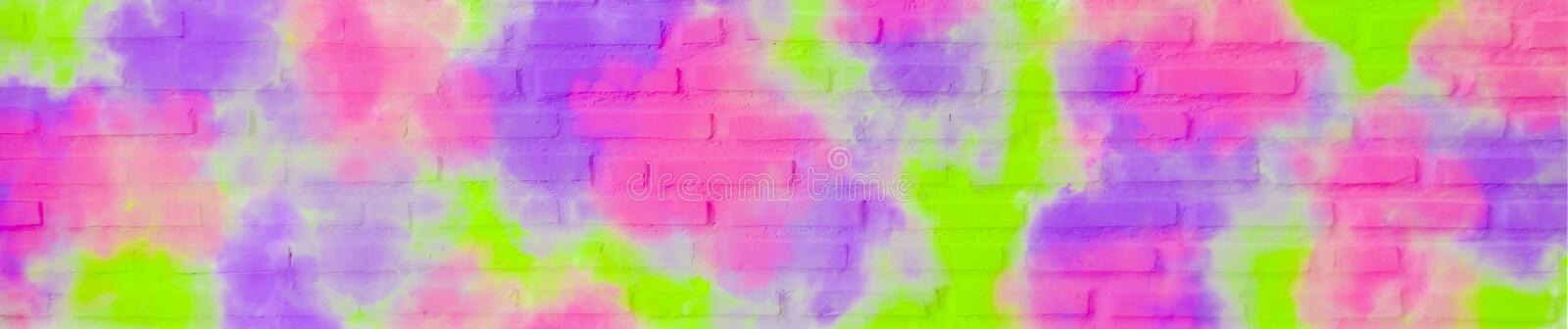 Texture of white brick wall with rough surface, banner horizontal for decorating websites or using blank empty ads and copy space stock images