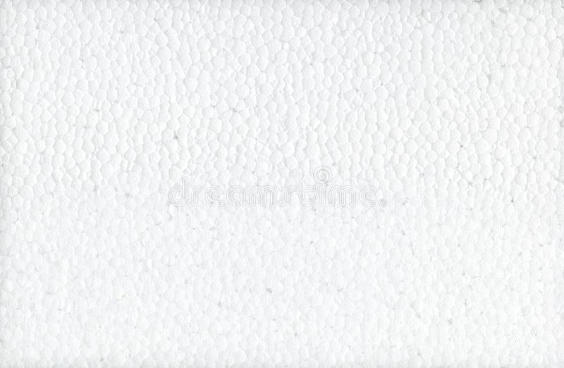 The texture is a white foam. Styrofoam texture background. Polystyrene foam texture. Polystyrene foam flat surface texture. royalty free stock photography