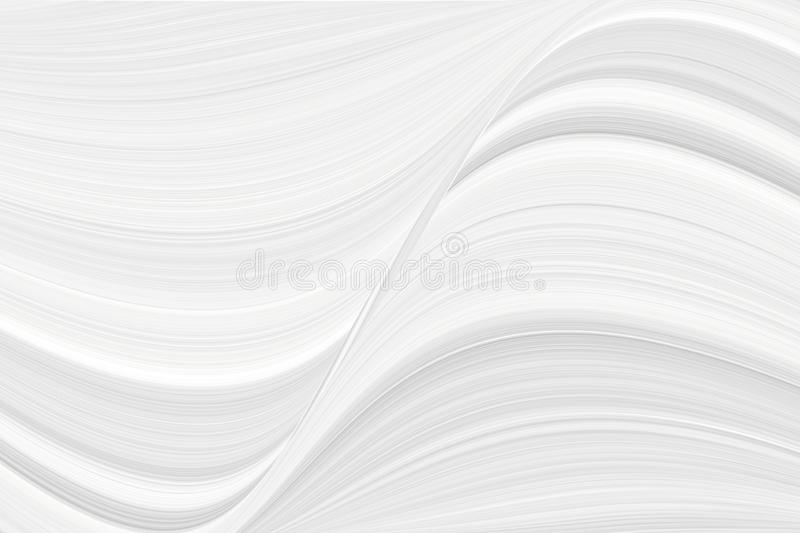 The texture of white marble for a pattern of packaging in a modern style. Beautiful drawing with the divorces and wavy lines. The texture of white marble for a royalty free stock images