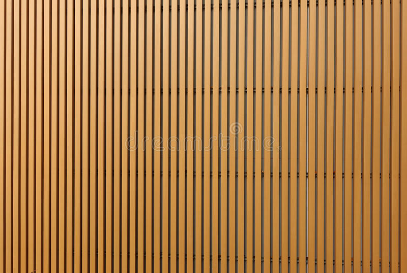 Texture of wood lath wall. Background royalty free stock photography
