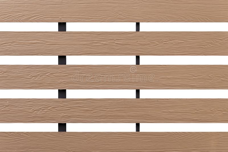 Texture of wood lath wall isolated on white background royalty free stock images