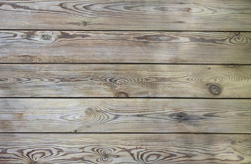 Texture wood plank brown color. Background wooden table empty. Harvesting wood horizontal. Boards royalty free stock photos