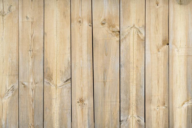 Texture wood plank light color. Background table wooden free. Harvesting wood vertical. Boards stock images