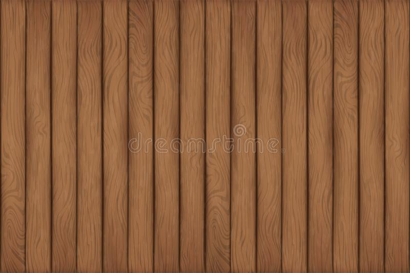 A texture of wood planks stock illustration