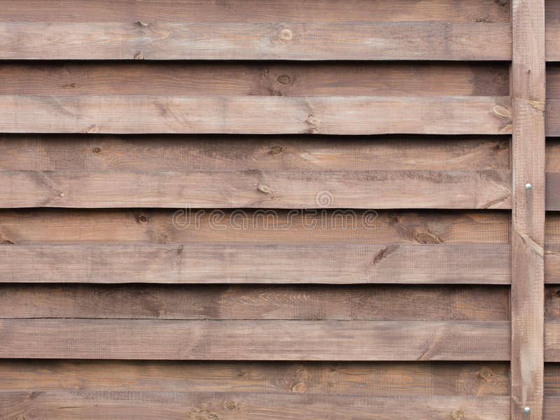 Texture Of A Wooden Fence With A New Horizontal Brown Background
