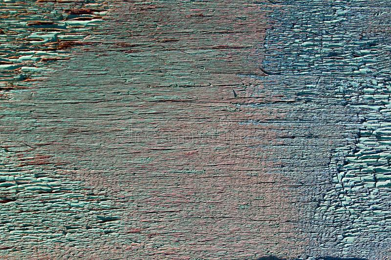 Texture wooden rough old dirty blue surface royalty free stock images