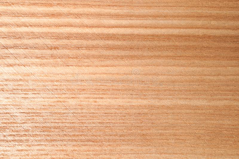 Texture of wooden surface as background, closeup. Interior element royalty free stock photography