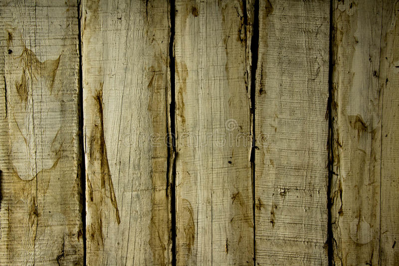 Texture wooden wall white color with brown stains royalty free stock photos