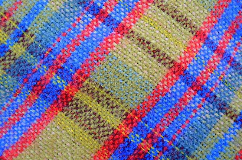 Download Texture Of Woven Picnic Blanket Stock Photo - Image: 25039098