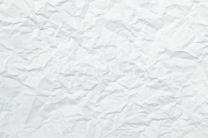 Texture of wrinkled paper stock photos