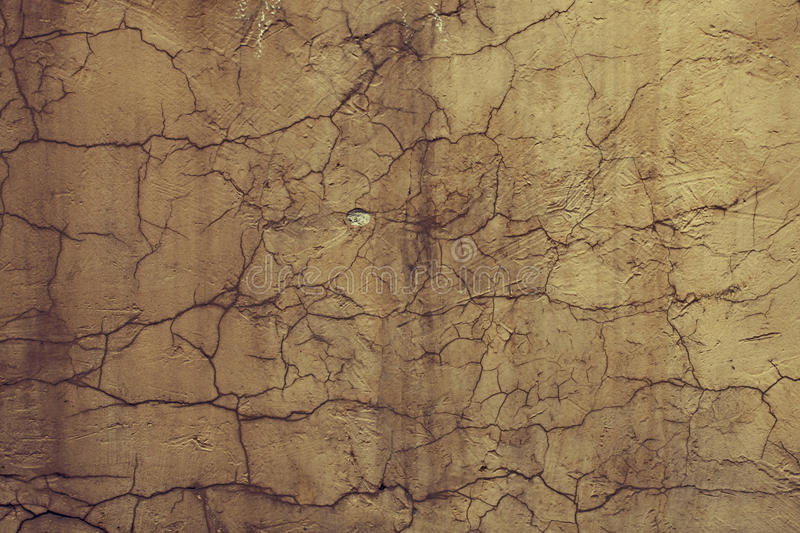 Download Texture Yellow Cement Wall With Cracks Stock Photo - Image: 19223534