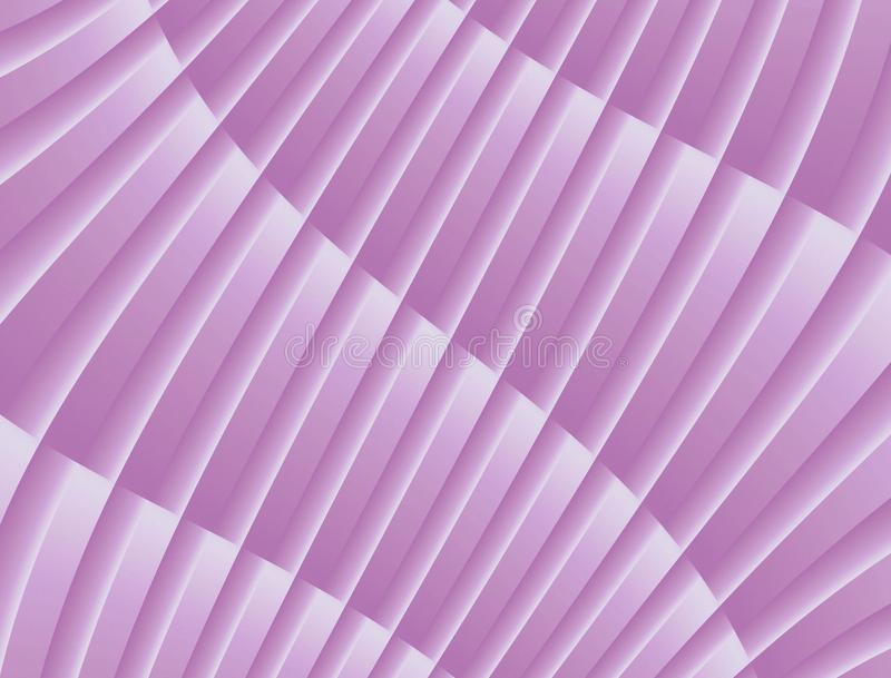 Textured Abstract Curves and Lines Geometric Diagonal Background Design Lilac Purple White royalty free illustration