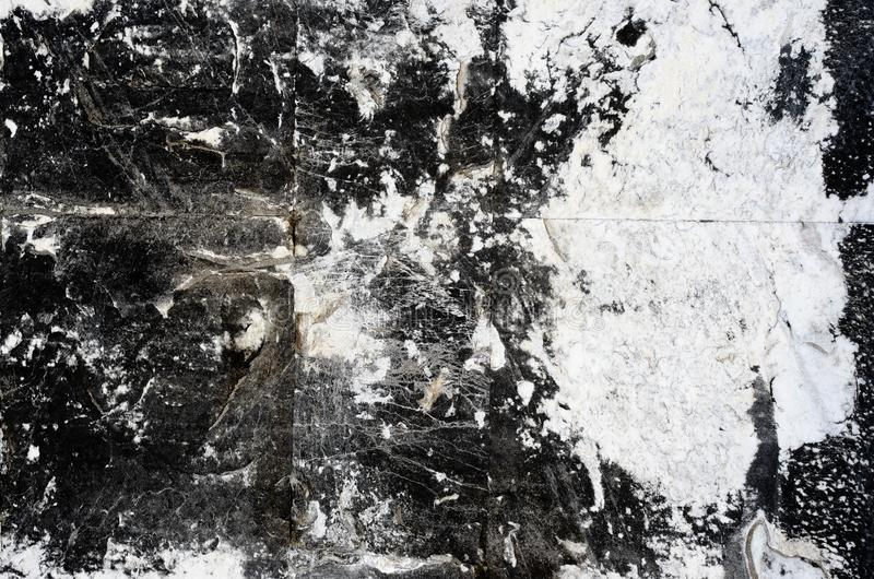 Textured background of a black and white marble stone royalty free stock photos