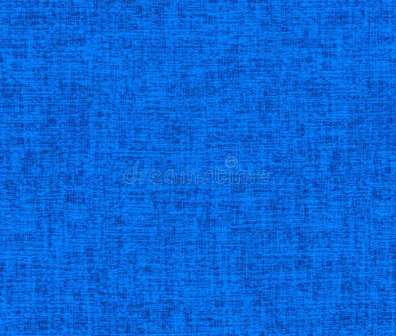 Textured  background of blue crumpled fabric royalty free stock photo