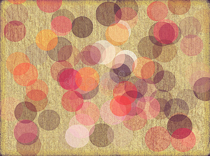 Download Textured Background With Circles Stock Illustration - Image: 9552483