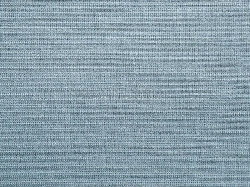 Textured background of gray-blue natural fabric royalty free stock photo