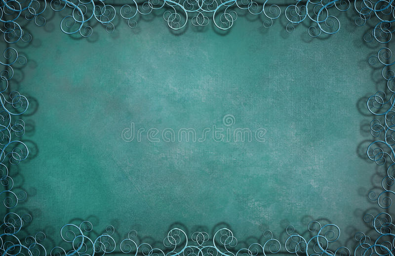 Textured Background. With Small Flourishes royalty free illustration