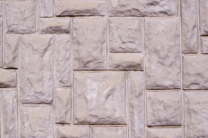 Textured block shaped wall texture, architecture. stock images