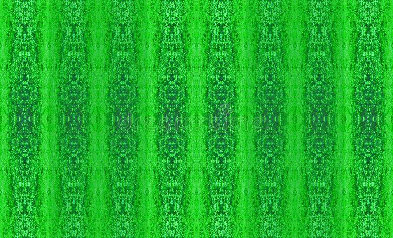 TEXTURED BLUE AND GREEN REPEAT PATTERN. Image of a green and blue detailed decorative repeat pattern stock illustration