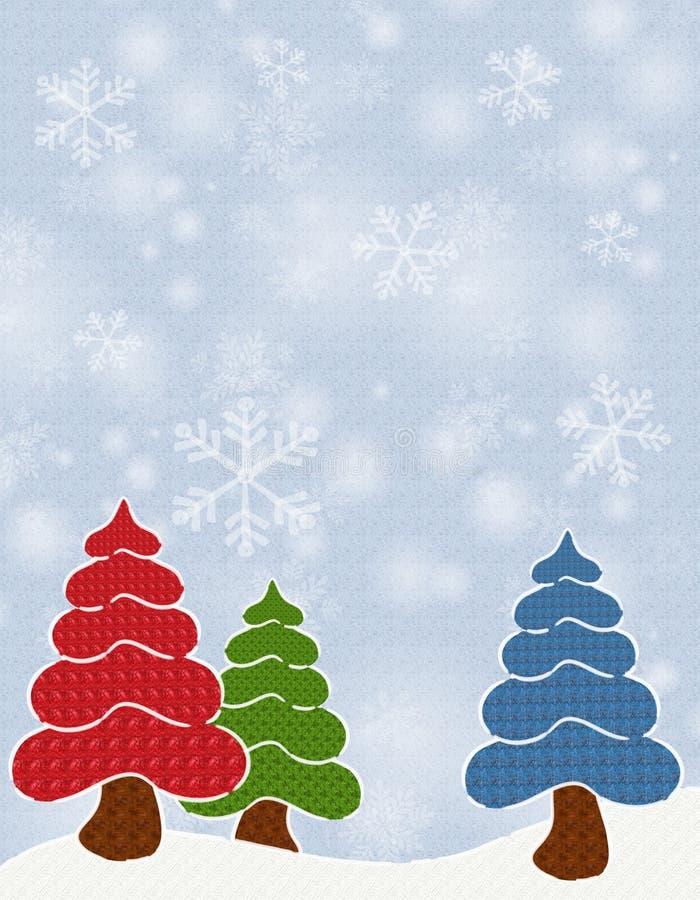 Textured Christmas Trees Free Stock Photos